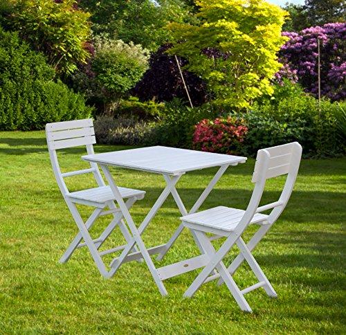 Bentley Garden Wooden Garden Patio Furniture Bistro Set