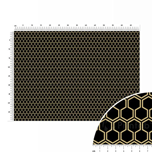 black-honey-cotton-linen-fabric-fat-quarter-70x50cm-black-grey