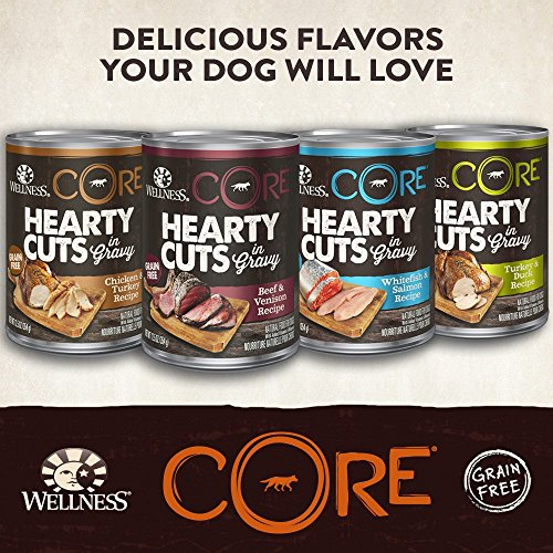 Wellness Core Hearty Cuts Natural Wet Grain Free Canned