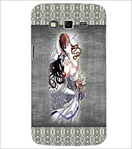 PrintDhaba Bold Animated Bride D-3566 Back Case Cover for SAMSUNG GALAXY GRAND 2 (Multi-Coloured)
