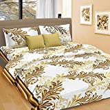 Cortina Cotton Double Bedsheet with 2 Pillow Cover (PDB-002-D)