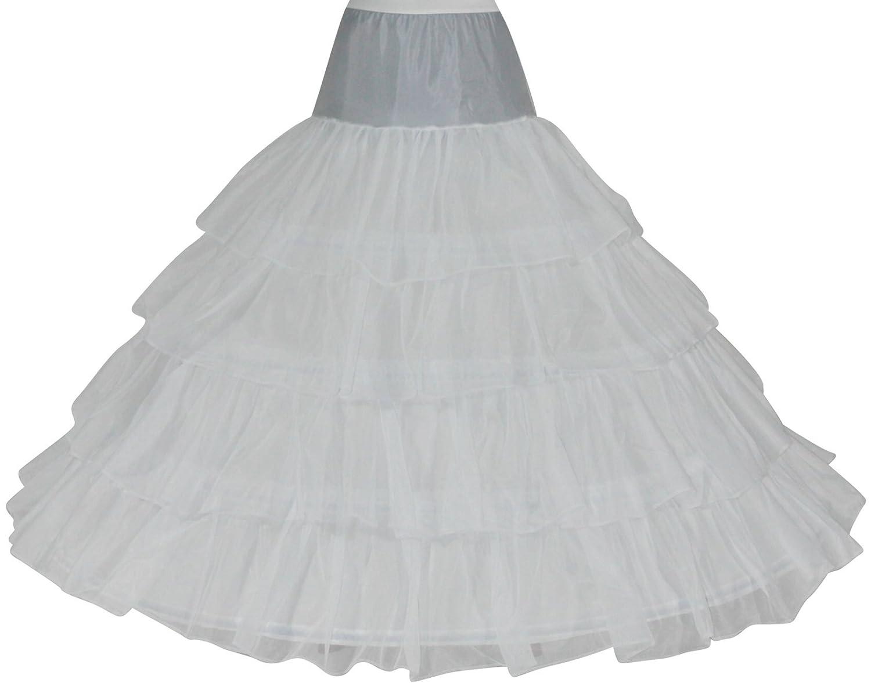 Reifrock Petticoat 4 Reifen Umfang ca. 420 cm Gr. 34-50