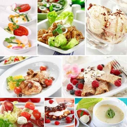 Gourmet Food Collage - 30