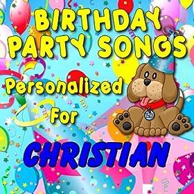 Amazon.com: Happy Birthday to Christian (Cristian, Khristian, Kristian