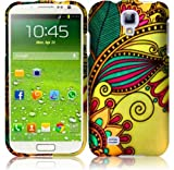 For Samsung Galaxy S4 i9500 Hard Design Cover Case Antique Flower Accessory