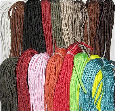 50-Ft 550 Parachute Cord Military 7-Strand Camping Survival - COLOR MAY VARY