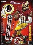 NFL Washington Redskins Robert Griffin III Fathead Teammate Wall Decal, 8 x 18-Inch, Red