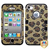 Product B009JBG7NA - Product title MYBAT IPHONE4AVHPCTUFFDM007NP Premium TUFF Diamante Case for iPhone 4 - 1 Pack - Retail Packaging - Leopard Skin/Camel Diamante