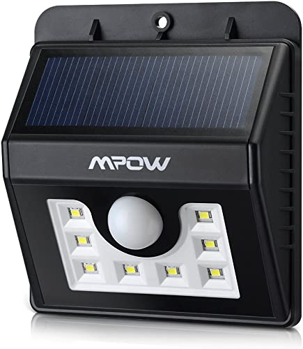 MPOW Solar Powered Sensor Light