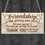 Friendship Sign Best Friend Plaque Gi...