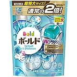 【大容量】 ボールド 洗濯洗剤 液体 ジェルボール ダブルプラチナ プラチナホワイトリーフの香り 詰替用 特大サイズ 705g (36個入)