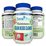 Maintenance Colon Detox Cleanse By TerraPur. Use This AMAZING DETOX CLEANSER To Flush Out Toxins. Feel Lighter and Healthier. Manufactured in a GMP Certified Organic Facility