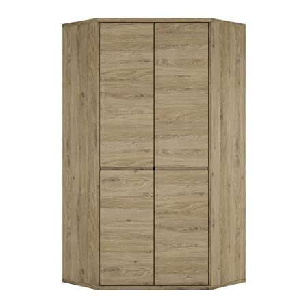 Furniture To Go Shetland 2-Door Cupboard, 98.5 x 197 x 40 cm, Oak