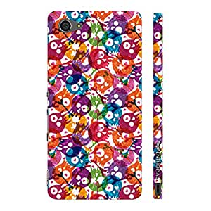 Sony Xperia Z5 Compact Skully Holi designer mobile hard shell case by Enthopia