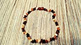 Raw-Baltic-Amber-Teething-Necklaces-For-Babies-Unisex-Anti-Flammatory-Drooling-Teething-Pain-Reduce-Properties-Multi-4-Colors-UNPOLISHED-Natural-Certificated-Oval-Baltic-Jewelry-with-the-Highest-Quali