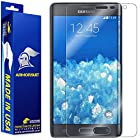 ArmorSuit MilitaryShield - Samsung Galaxy Note Edge Screen Protector Anti-Bubble Ultra HD - Extreme Clarity & Touch Responsive Shield with Lifetime Free Replacements