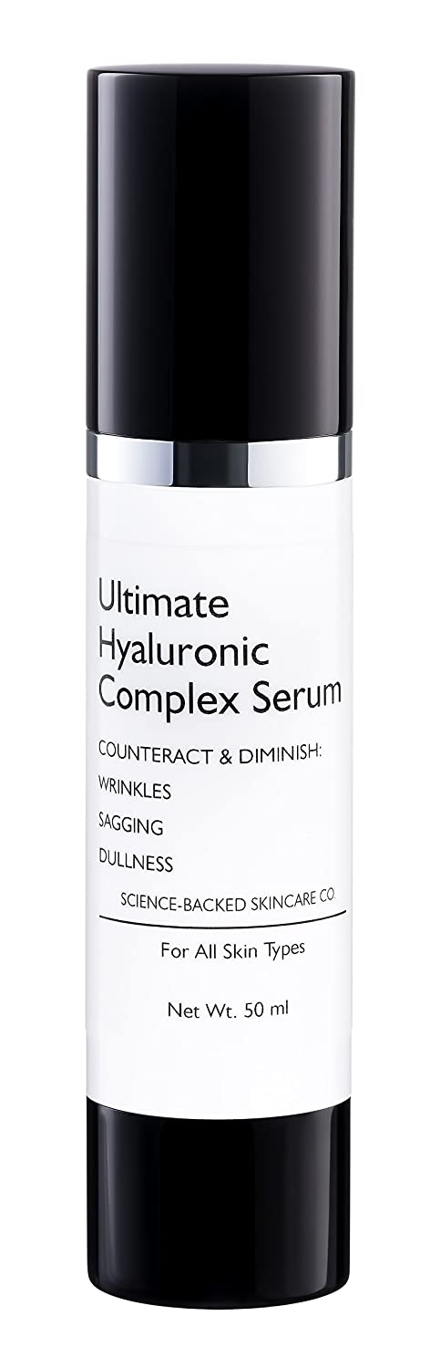 RegenFX Ultimate Hyaluronic Acid Serum - with Vitamin C, A, D, E - Clinical Strength -Anti Aging Serum & Anti Wrinkle Moisturizer. Designed To Fill Facial Fine Lines & Wrinkles Counteract & Diminish Sagging, Dullness. Anti Aging Skin Care - Face Serum - 3mh led photon ultrasonic facial skin care cleaner ultrasound anti aging wrinkle remover beauty massager mr009wq g4950