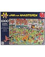 Jumbo - Puzzle 1000 Pièces - Match Football de Jan van Haasteren