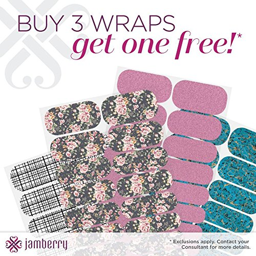 Jamberry Nail Wraps B3G1 Free--4 Full Sheets Total--Customer Choice of Wraps