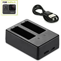 ZeroLemon GoPro Hero 5 Dual Battery Charger (Black)