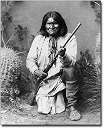 Native American Indian Geronimo Portrait 11x14 Silver Halide Photo Print