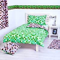 Pixels Collection Accessories and Bedding Bedroom Décor, Available in 4 Colours and a Variety of Products from Shopisfy