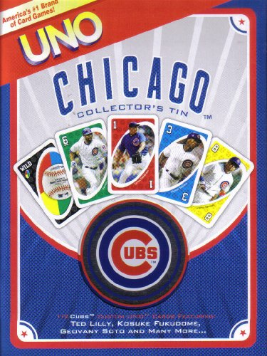 Fundex Games Chicago Cubs Mlb Uno at Amazon.com