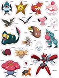 Pokemon-Super-Sticker-Book-Kalos-Region-With-Stickers