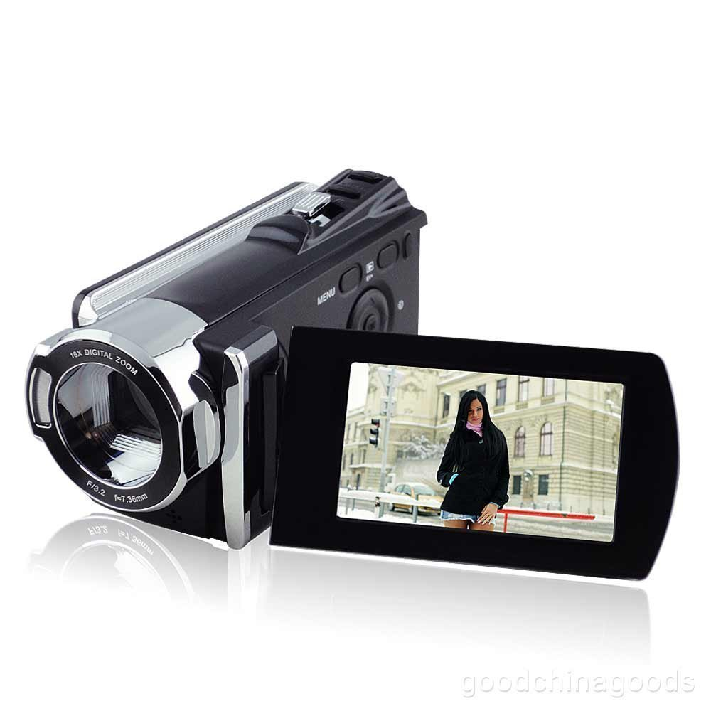 "PowerLead Puto PLD001 2.7"" LCD 1080P Full HD DV Camera Camcorder 270 Degree Rotation"