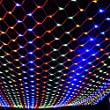 JIAEN Decorative Led Net Mesh Fairy String Light with 8 Function Controller (Multi-Color)