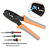 IWISS Weather pack Crimper Tools for Crimping Delphi Packard Weather pack Terminals or Metri-Pack Connectors