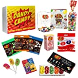 Dandy Candy Jelly Belly Sweets Gift Hamper - Makes an Amazing Christmas or Birthday Gift