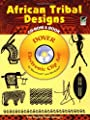 African Tribal Designs CD-ROM and Book (Dover Electronic Clip Art) by Dover Publications Inc.