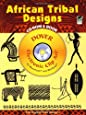 African Tribal Designs CD-ROM and Book (Dover Electronic Clip Art)
