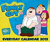 FAMILY GUY DESK BLOCK 2013 CALENDAR