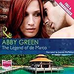 The Legend of De Marco | Abby Green