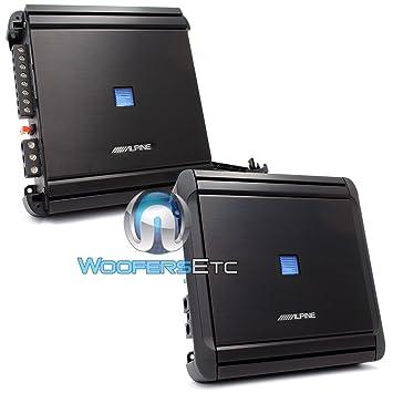Alpine MRV F300 4 Channel Car Amplifier