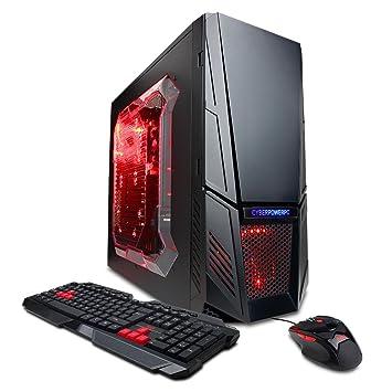 CyberpowerPC Gamer Xtreme GXi3600A Desktop Black Red