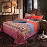 LELVA-Bohemian-Exotic-Colorful-Ethnic-Style-Bedding-Sets-Cotton-Boho-Style-Bedding-Set-Boho-Duvet-Cover-Queen-King-Size-4pcs