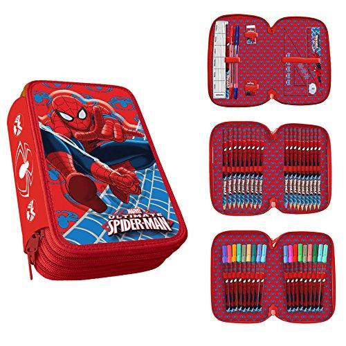 spiderman-astuccio-tre-zip-scuola-as9044