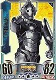Doctor Who Alien Attax Topps - Rainbow Foil 005 Cyberman