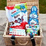 Kinder Surprise Easter Small Luxury Hamper - Kinder Bunny, Shoko-Bons, Chocolate Bars and Mini Eggs - The Perfect Easter Gift - By Moreton Gifts