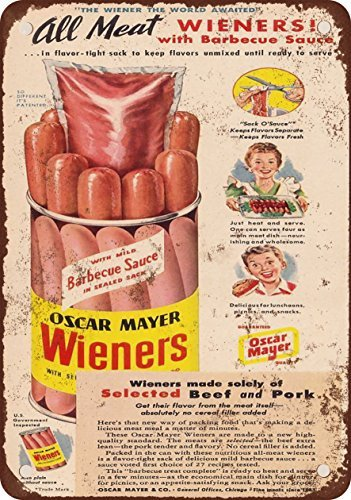 1948-oscar-mayer-wieners-look-vintage-riproduzione-in-metallo-tin-sign-178-x-254-cm