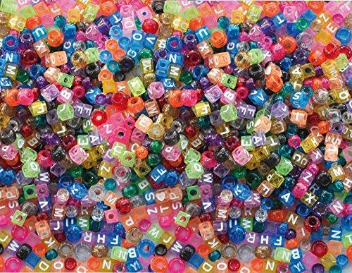 Playbox Kongo e Lettere branelli di plastica (1000 Pezzi)