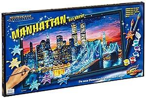 Schipper - 9220 369 - Peinture par Numéro - Manhattan la Nuit - 40x80 cm