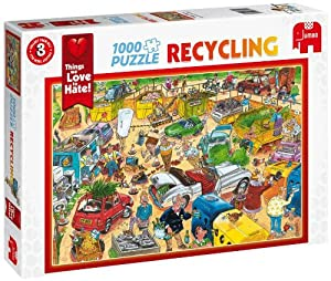 Things We Love To Hate - Recycling 1000 Piece Jigsaw Puzzle