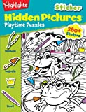 img - for Highlights Sticker Hidden Pictures  Playtime Puzzles book / textbook / text book