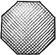 Westcott 2472  40-degree Egg Crate Grid for Apollo Orb (Black)