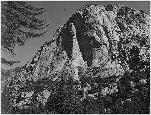 el-museo-de-salida-adams-north-dome-kings-river-canyon-california-a3-poster
