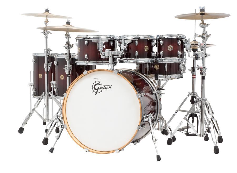 gretsch drums catalina maple cm1 e826p dcb 6 piece drum shell pack deep cherry. Black Bedroom Furniture Sets. Home Design Ideas
